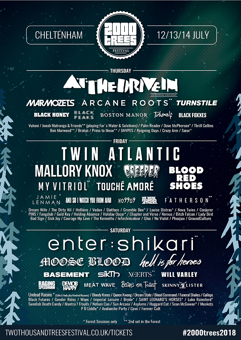 What to Expect | 2000trees Music Festival